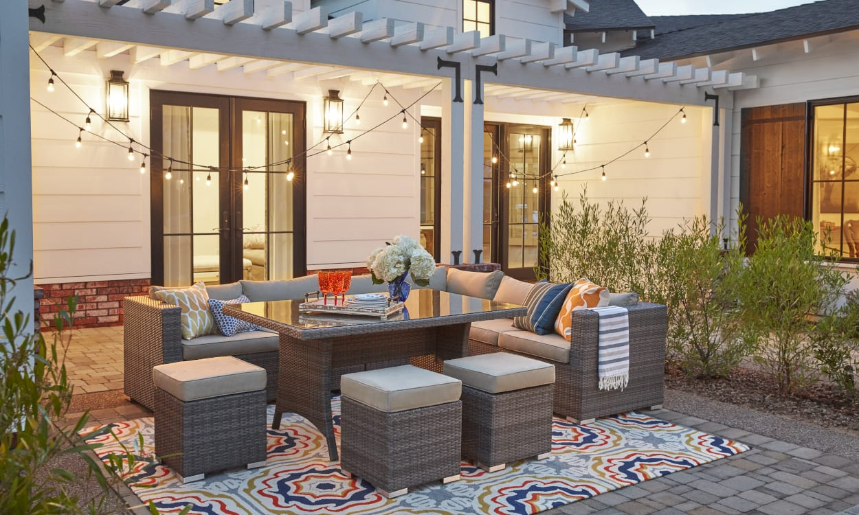 Patio Decor Ideas My Noble Homes